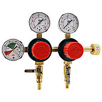 2-Product Dual Pressure Kegerator Co2 Regulator