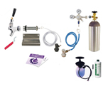 Kegco Ultimate Door Mount Kegerator Keg Tap Conversion Kit - Ball Lock