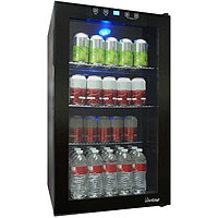 Touch Screen Glass Door Beverage Cooler
