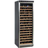 Avanti WCR682SS 166-Bottle Wine Refrigerator with Stainless Steel Glass Door Frame