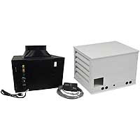 1/2 Ton 5,500 BTU Split System Wine Cooling Unit with Electric Heating Option