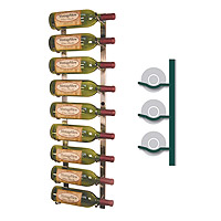 Vintage View WS31-P - 9 Bottle Vintage View Wine Rack - Platinum Series Finish