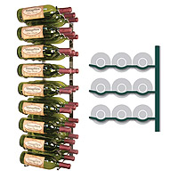 Vintage View WS33-P - 27 Bottle VintageView Wine Rack - Platinum Series Finish