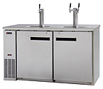 Scratch & Dent - Kegco XCK-2460S Three Keg Commercial Grade Kegerator - Stainless Steel