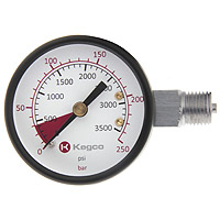 Kegco YH-76 High Pressure Replacement Gauge