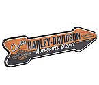 Harley Davidson� HDL-15303 - Authorized Service Arrow Pub Sign