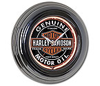 Harley-Davidson HDL-16617 - Oil Can Neon Clock