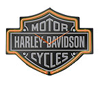 Harley-Davidson� HDL-16651 - Etched B&S Shaped Neon Clock