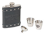 Harley Davidson HDL-18505 - Motorcycles Flask Gift Set