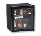 Avanti BCA193BG 1.7 Cu. Ft. Beverage Cooler - Black w/Glass Door