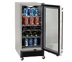 Avanti OBC33SSD 3.2 CF Built-In Outdoor Refrigerator - Digital