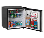Avanti BCA1802SS-1  1.7 cf Compact All Refrigerator - Black with Stainless Steel Door