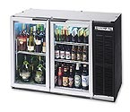 Beverage-Air BB48G 12.4 cf Back Bar Refrigerator with Glass Doors