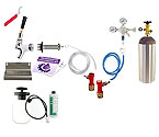 Kegco Ultimate Door Mount Kegerator Keg Tap Conversion Kit - Pin Lock