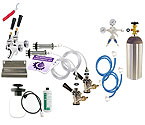 Kegco Ultimate Door Mount Kegerator 2 Tap Conversion Kit