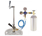 Kegco Ultimate Keg Party Pump Kit Beer Dispenser with Tank - Kegco.com & Marketplace