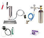 Kegco Ultimate Tower Kegerator Conversion Kit - Ball Lock