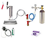 Ultimate Tower Kegerator Conversion Kit - Pin Lock