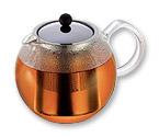 ASSAM 6 Cup Tea Press Pot