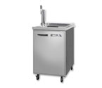 Beverage-Air Kegerator BM23C-1-S Club Top Beer Cooler - All Stainless Steel
