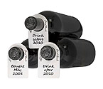 Final Touch Wine Bottle Tags - 48 Pieces