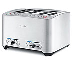 Breville BTA840XL - Die-Cast 4-Slice Smart Toaster