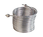 Jockey Box Stainless Steel Cooling Coil, Right Hand, 50' x 5/16
