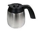 Capresso 4445.05 - 10-Cup Stainless Steel Replacement Carafe