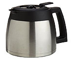 Capresso 4465.05 - 10-Cup Stainless Steel Replacement Carafe