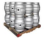Pallet of 18 Kegco MK-K9G-CASK Kegs - Brand New 10.8 Gallon Firkin Cask Beer Keg