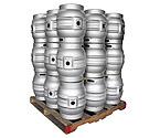 Pallet of 27 Kegco MK-K9G-CASK Kegs - Brand New 10.8 Gallon Firkin Cask Beer Keg