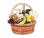 Champagne Fruit Gourmet Gift Basket