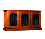Le Cache Contemporary Credenza - 115 -Bottle Wine Cellar - Provincial Finish