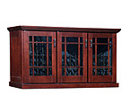 Le Cache Mission Credenza 180-Bottle Wine Cellar - Classic Cherry Finish