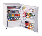Scratch & Dent - Summit CT70 6.0 cf Refriegerator Freezer - White w/Custom Panel Door