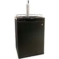Inventory Reduction - Danby Kegerator Black Full-Size Single Faucet Beer Dispenser - DBF163BL-1