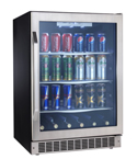Danby Silhouette DBC162BLSST Beverage Center