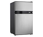 Danby DCRM31BSLDD 3.0 Cu. Ft. Dual Door Compact Fridge with Freezer