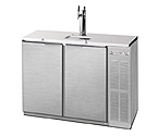 Beverage-Air DD48Y-1-S Two Keg Commercial Kegerator - Stainless Steel