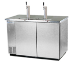 Beverage-Air Kegerator DD58-S Commercial 3-Keg Beer Cooler - Stainless Steel