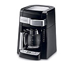 DeLonghi DCF2212T - 12-Cup Drip Coffeemaker with Convenient Front Access