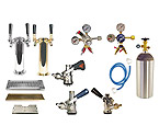 Kegco Custom Two Keg Tower Kegerator Conversion Kit