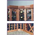 Designer Series Curved Wine Rack Molding Package