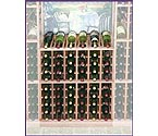 Designer Series Individual Half Height 60 Bottle Wine Racks