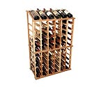 Designer Series Individual Half Height Wine Rack w/ Display Row