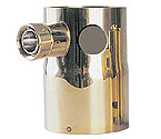 DT-2HLKB Single Product Tower Adapter - 2 Holes, 1 Shank Assembly - Brass