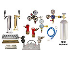 Kegco Custom Homebrew Draft Tower Kegerator Conversion Kit