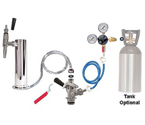 Kegco Economy Guinness® Dispensing Draft Tower Conversion Keg Tap Kit