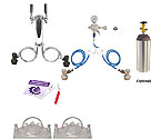 Kegco Economy Homebrew 2 Faucet Draft Tower Conversion Kit