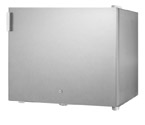 Summit FFAR2LCSS7 Stainless Steel 1.8 Cu. Ft. All Refrigerator w Front Lock - Commercially Approved